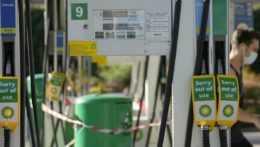 Nedostatok benzínu v Británii