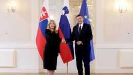 Čaputová a Pahor