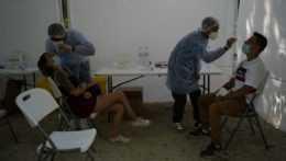 Testovanie na koronavírus vo francúzskom Paríži