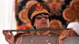 bývalý líbyjský líder Muammar Kaddáfí