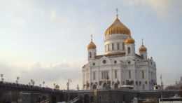 Chrám Krista Spasiteľa v Moskve.