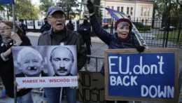 Protest proti rozhodnutiu poľského ústavného súdu