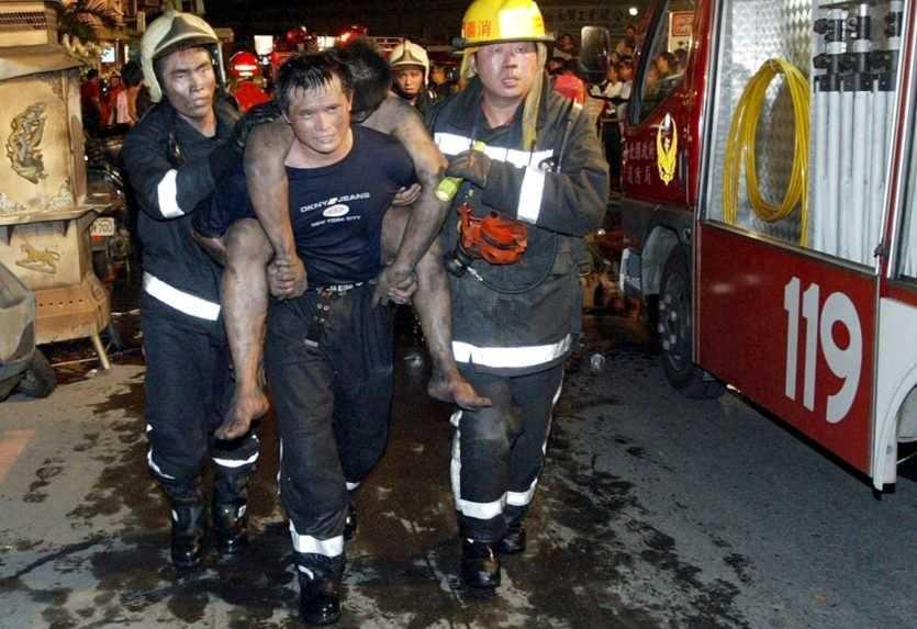 Počet obetí požiaru v obytnej budove na Taiwane narástol
