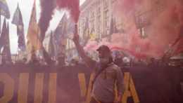 Pochod ukrajinských nacionalistov