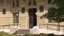 Pohľad na budovu úradu Košického samosprávneho kraja