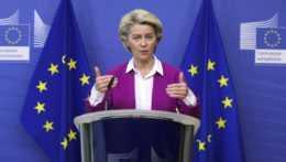 šéfka Európskej komisie Ursula von der Leyenová