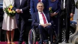 český prezident Miloš Zeman na vozíčku
